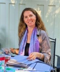 Photo of Kate-Alexandra Levine, French language instructor at the Alliance Française of Santa Rosa
