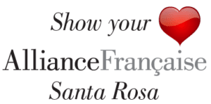 Show your (heart) love for the Alliance Française of Santa Rosa Donation image