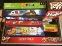 Photo of board games