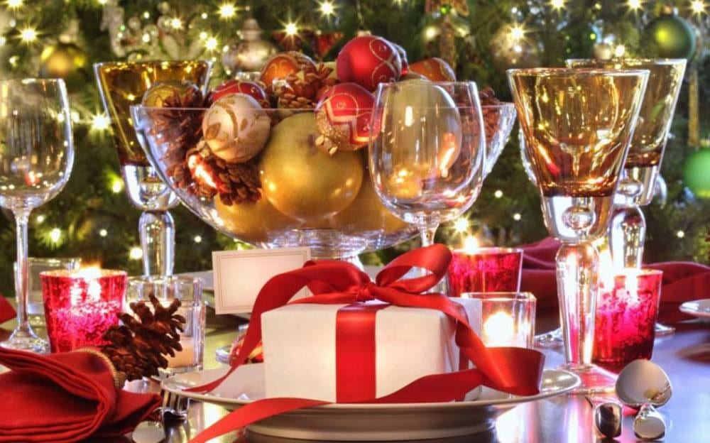 Photo of Christmas gifts and decorations