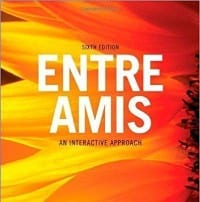 Book cover of Entre Amis 6th edition textbook