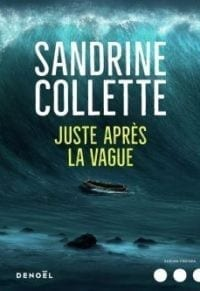 "Image of book cover ""Juste Après La Vague"" by Sandrine Collette"